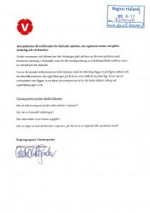 Interpellation (V) Städning och vårdsmittor-2_0001